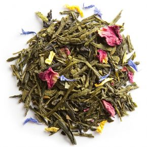 THÉ DES SABLES stone fruit green tea