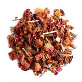 ENGLISH GARDEN mint and stone fruit herbal tea