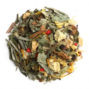 Turmeric, Licorice, Verbena Herbal Tea