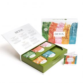 DETOX - Organic 30 whole leaf tea bags box set - Palais des Thés