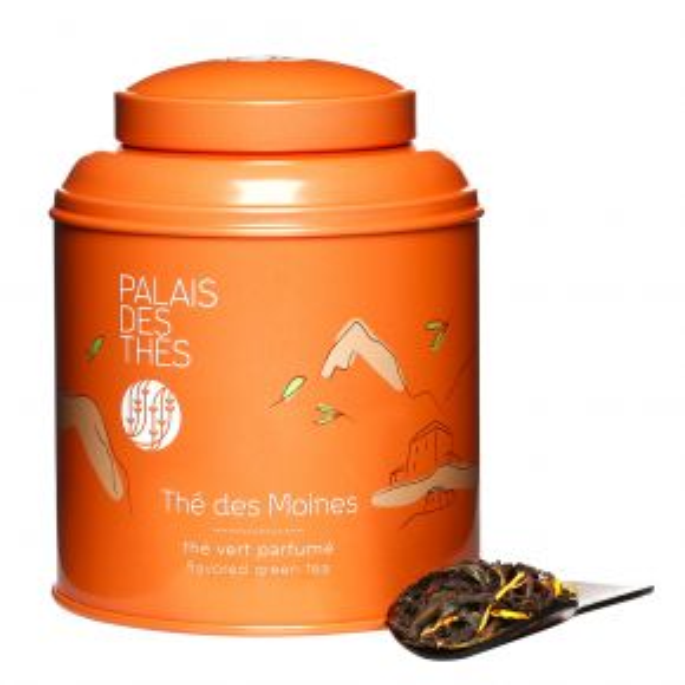 THÉ DES MOINES Tibetan black & green tea