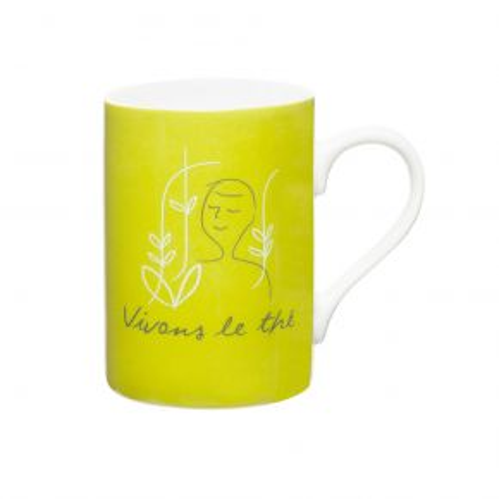"""Vivons le thé"" Mug"