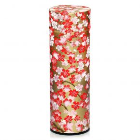 Washi Canister Romantic Cherry Trees
