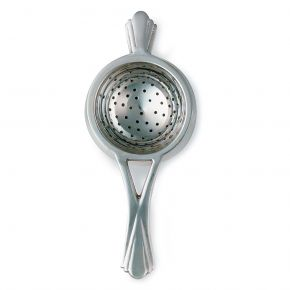 Silver Plated Tea Strainer & Drip Tray W711C