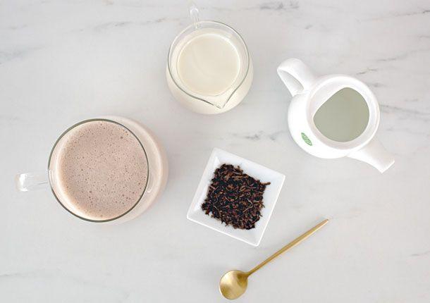 Latte tea