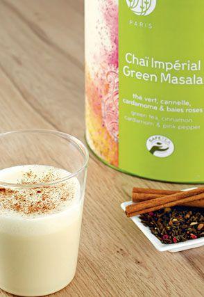 Chaï Impérial Green Masala Latte