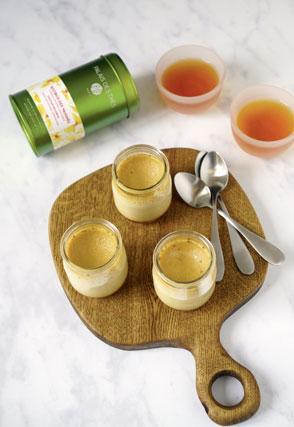 Crème caramel au Rooibos des Vahinés
