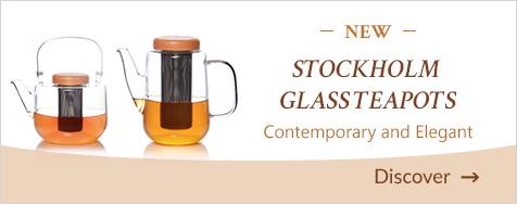 Stockholm Glass Teapots