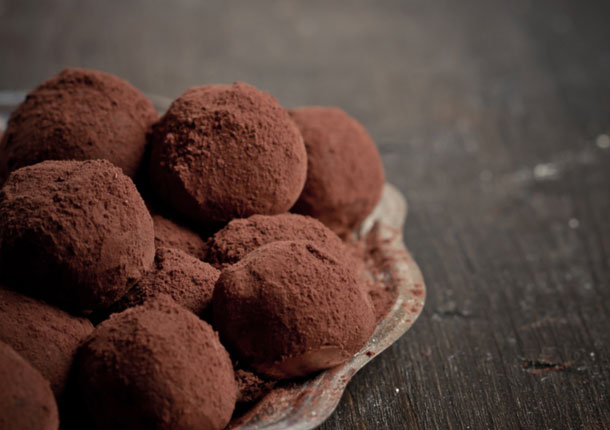 Truffes au chocolat & Chaï Impérial