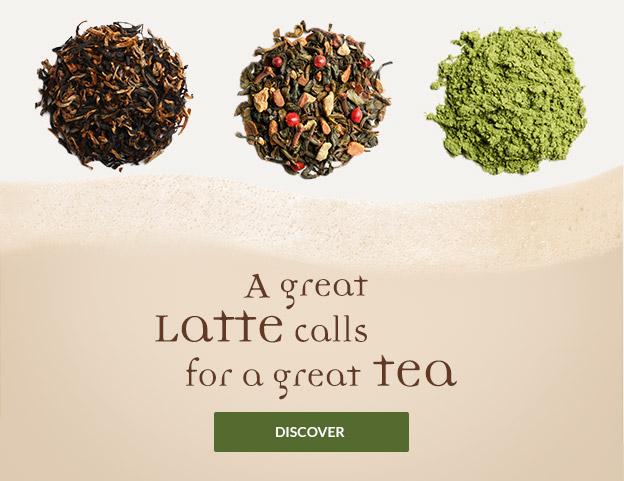 Latte tea category